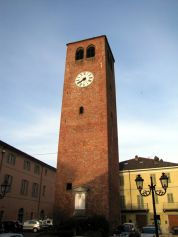 Municipal Tower in Crescentino