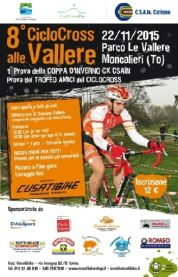 Torna il ciclocross alle Vallere